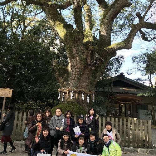 CF名古屋 伊奴神社 初詣ウォーキング&エクササイズ教室 2/4(日)9:30〜12:00