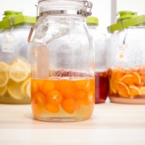 7月・真夏の果物で酵素ジュース作り!