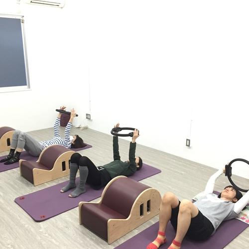 木曜日pilatesレッスン10:00〜11:00✴︎担当naomi