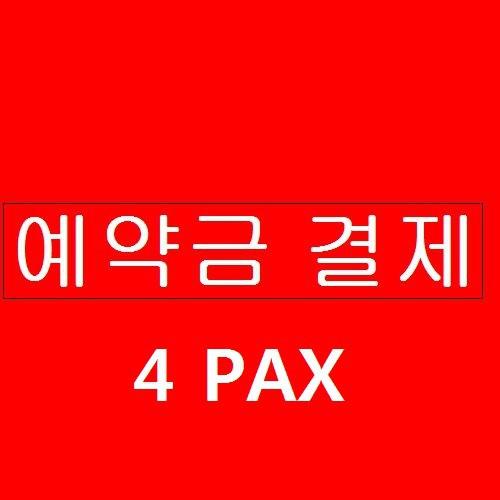 스노클링 예약금 결제 4PAX