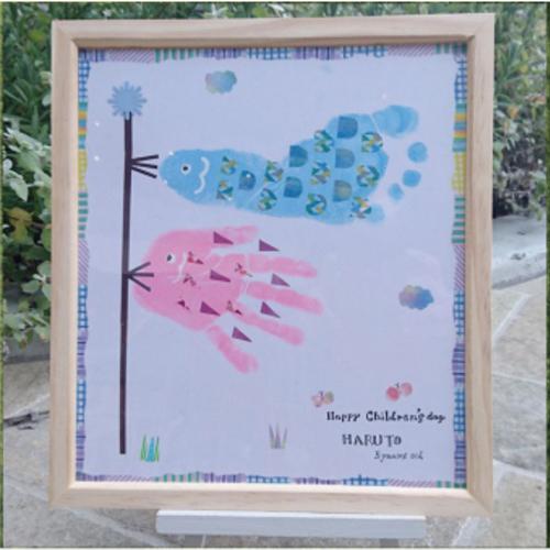 手形アートでお子さまの成長記録を!4・5・6月開催
