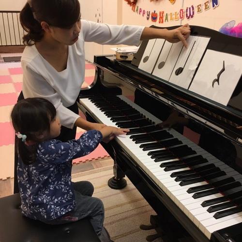 2017年度リトミック体験レッスン(3才プレピアノクラス)