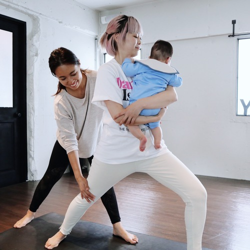 Mama Yoga (ママヨガ) ※お子様同伴OK NATTY