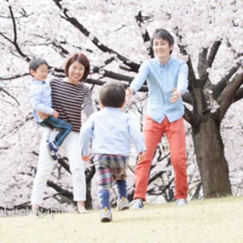 *こどもと家族のお写真撮影会* ④4月1日(日)大宮農林花の丘公苑