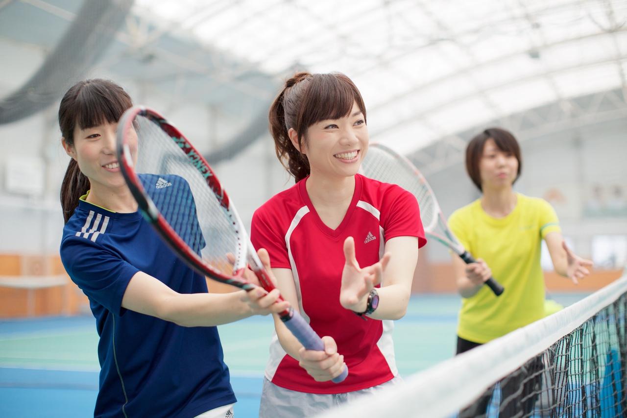 ちょっと体験〈テニス初心者〉