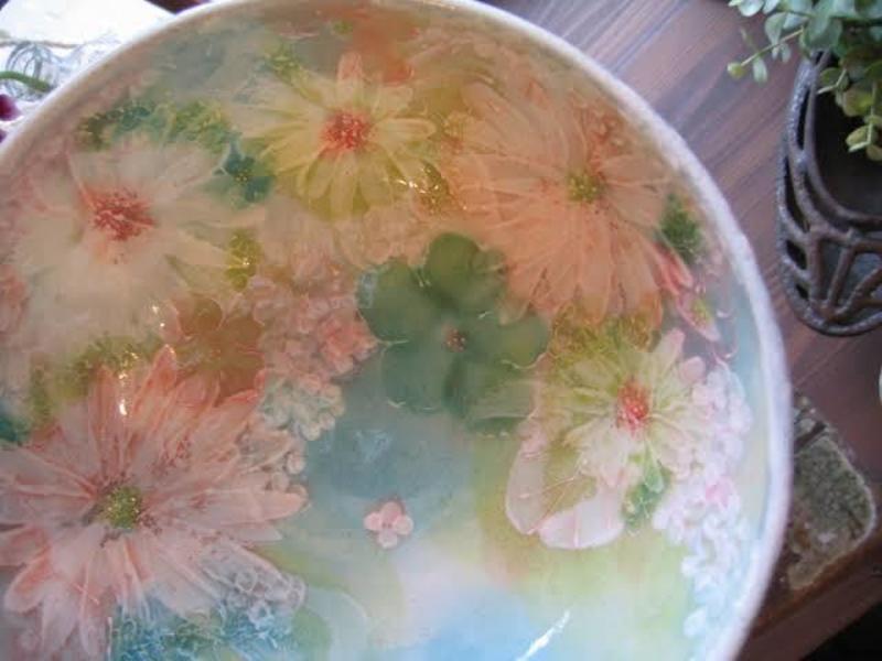 瀬戸市 虹の器🌈つくる癒しの酒豪陶芸家💞 野村晃子さんの工房にて絵付け体験✨