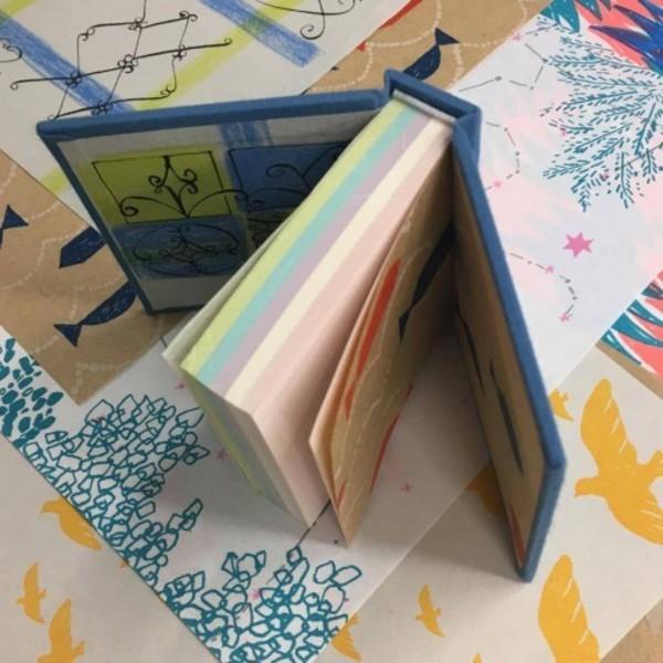 【製本教室「手紙社ペーパーとブロックメモで作るハードカバー」10/8(日)at EDiTORS】
