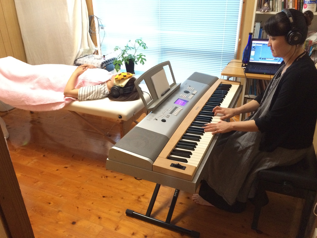 音の処方箋~ピアノで奏でるあなたのメロディ~【自宅サロン又はzoomセッションとなります】