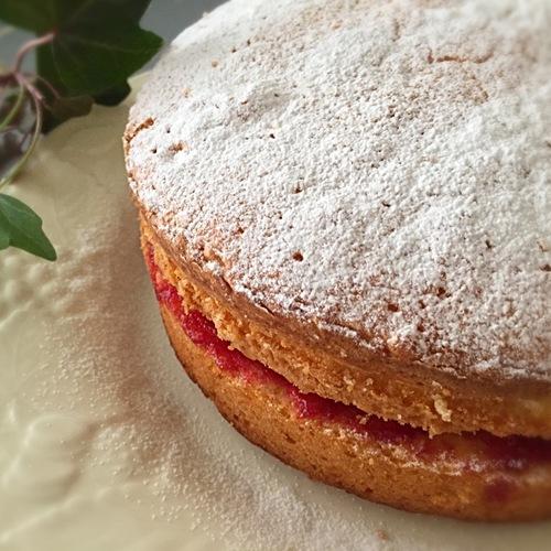 イギリスのケーキ!ビクトリアサンド