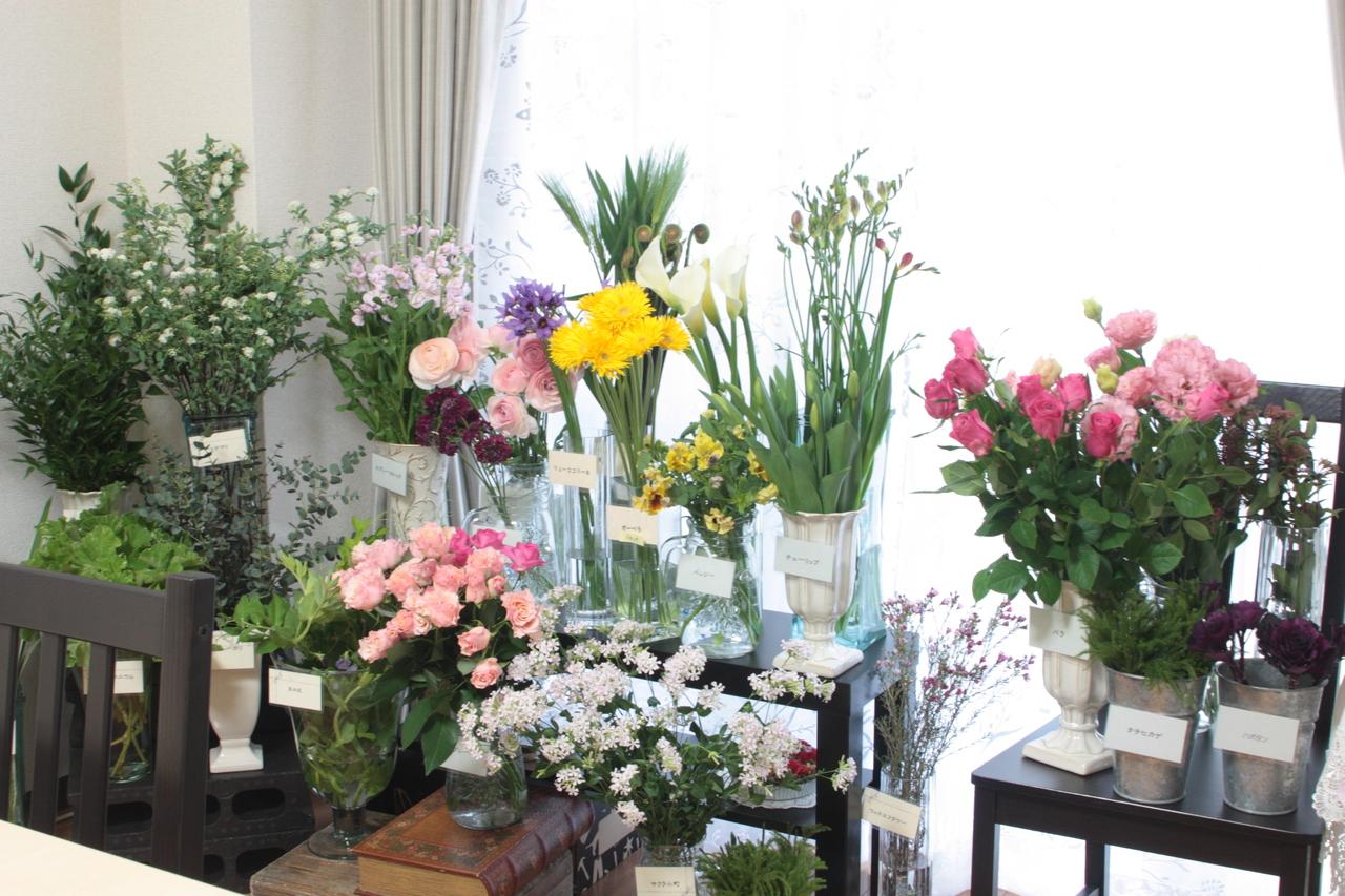 生花★自分でお花を選べる定番レッスン