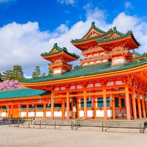 Heian Shrine, Eikando, Nanzenji, Kiyomizu-dera, Gion,
