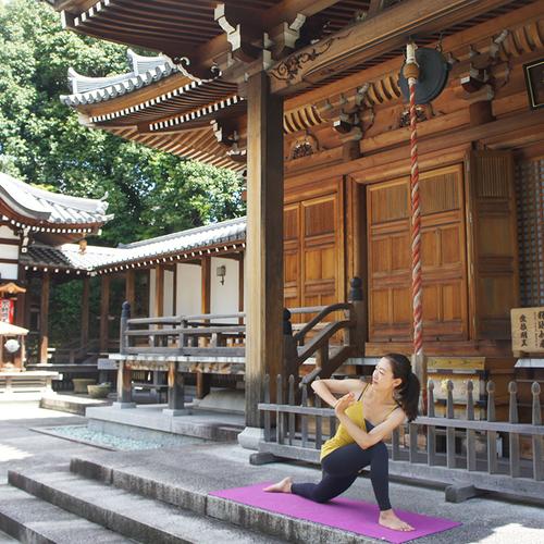 【ソンパチヨガ】〜お寺でヨガ体験〜 次回は2019年春開催を予定