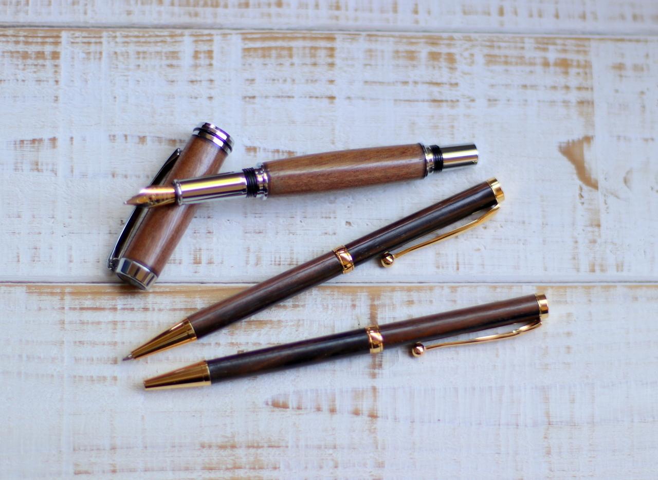 手作り木軸ペン講座