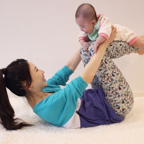 ベビトレヨガ 〜ママと赤ちゃんのフォト付き〜(Beautiful One Day)