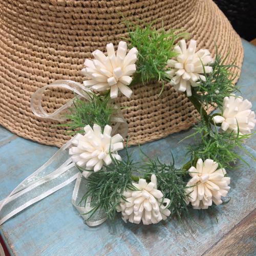 【8月★キッズ企画】ソラフラワーで作るミニ花かんむりリース