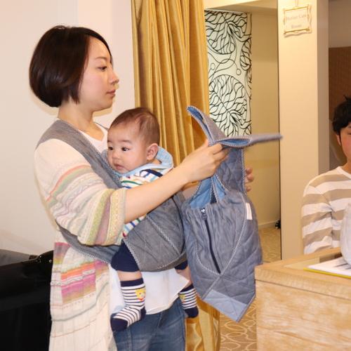 【関西唯一ココだけ!】エアリコ抱っこ紐・授乳クッションの試着