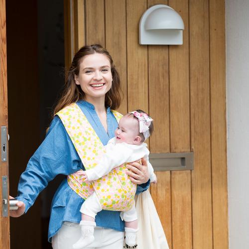 エアリコ抱っこ紐・授乳クッションの試着