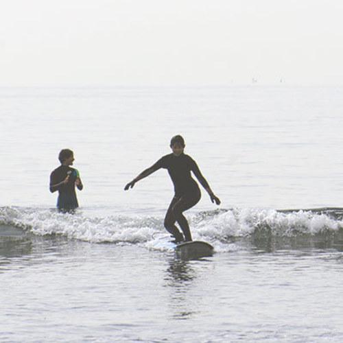 初級者サーフィンスクール「レベル2」1回(レベル1を修了している方)