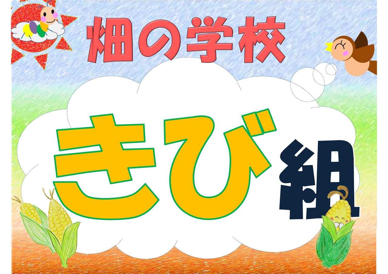 【2019年  畑の学校】きび組