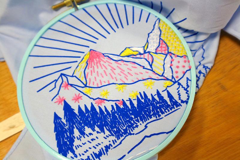 【「刺繍CAFE」 at trois 5/27(土)】