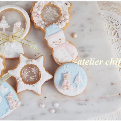 12月 マンスリー クリスマスアイシングクッキーレッスン