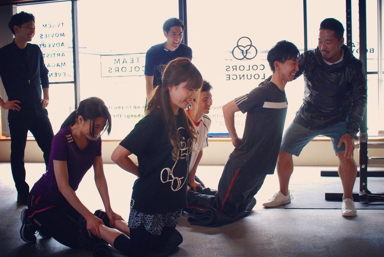 6月24日(土) COLORSコラボレクチャー トレーニングバトル!&飲み会 【トレーニング30名、飲み会50名】