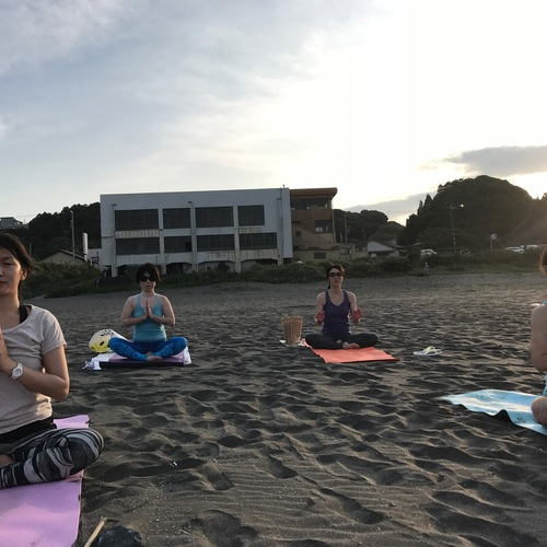 private BEACH YOGA RETEAT 1泊2日