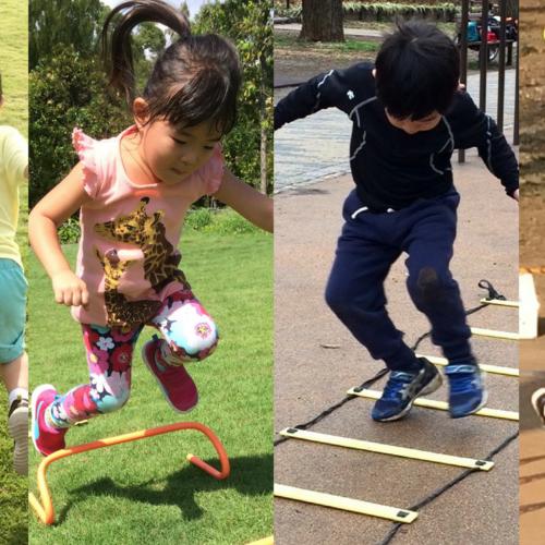 [3歳-4歳]スポーツを楽しめるようになろう!フィットネスプログラム 8月