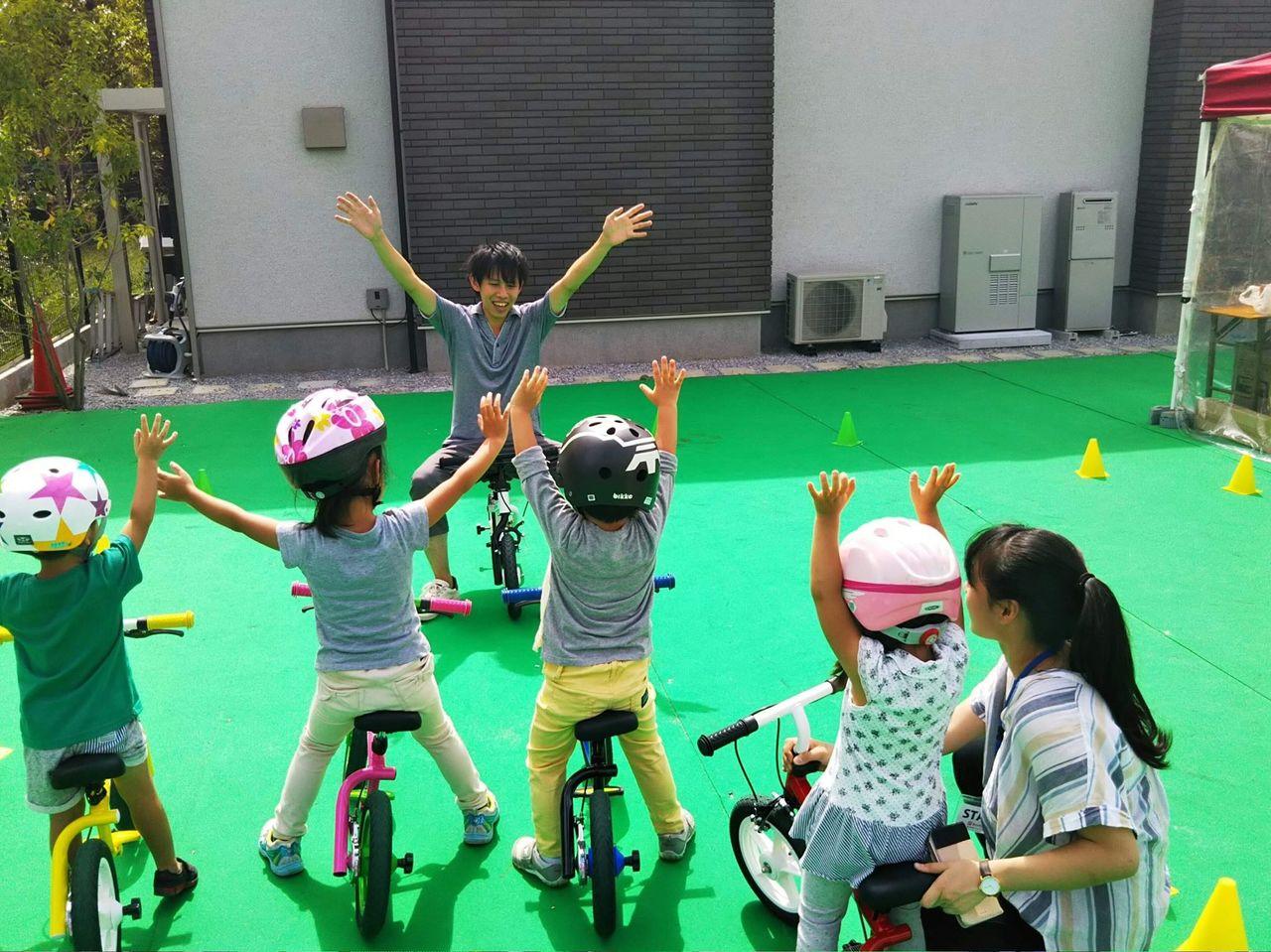 30分で自転車に乗れちゃう!?自転車教室 特別レッスン【小平】2019年3月10日(日)