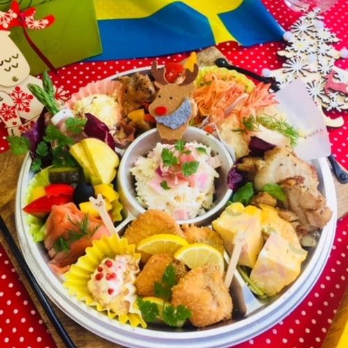 12月23.24日 IKUTA Kitchenとかわのなみ先生コラボ パリジェンヌのクリスマスレシピ
