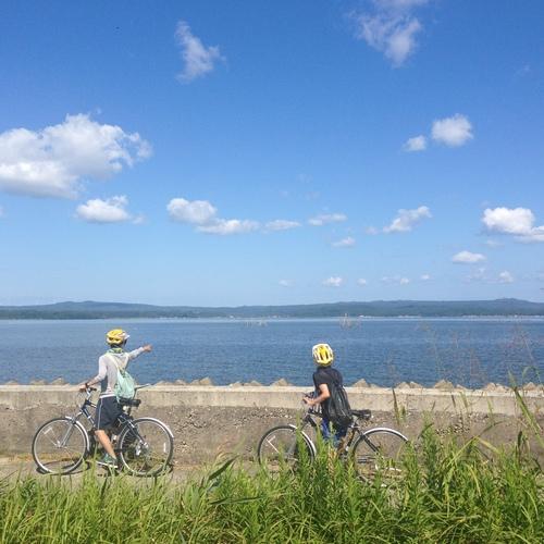 潮風を切って、七尾湾岸を走ろう!能登里海サイクリング