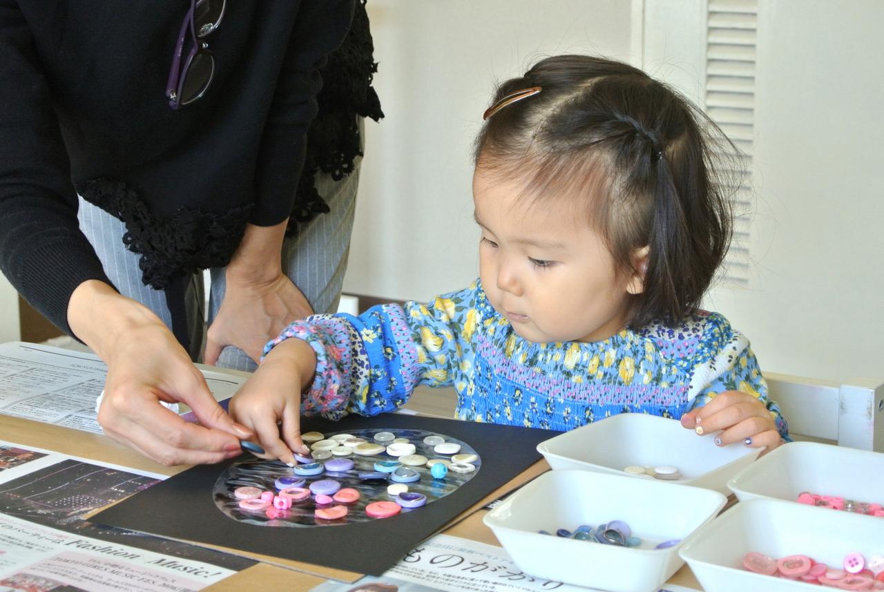 [2歳] 飾れる作品を造ろう!Babyアート☆Halloween!