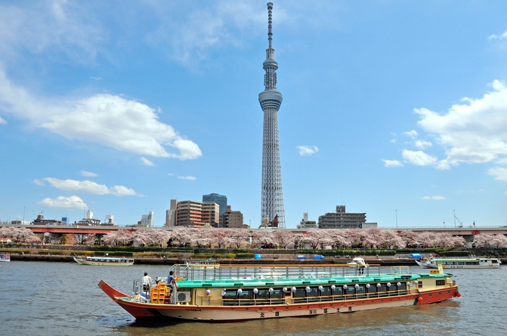 Japanese Lunch Cruise by Yakatabune by TOKYO SKYTREE