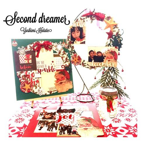 東京スクラップブッキング 12月5日WS『Christmas 12inch layout』