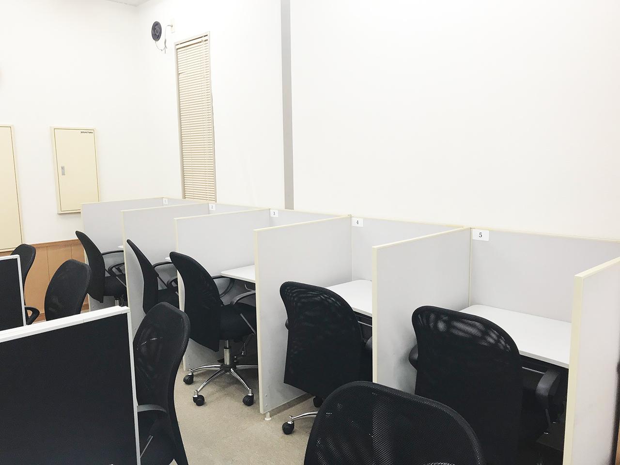 【ビジター・デスク1】自習室BASE - 水戸FMS店