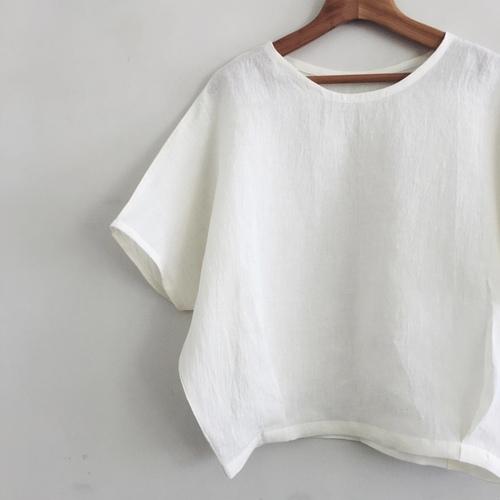 夏のTシャツブラウスWS