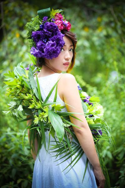 【7月23日開催】ボディにもできる!夏の花衣体験会