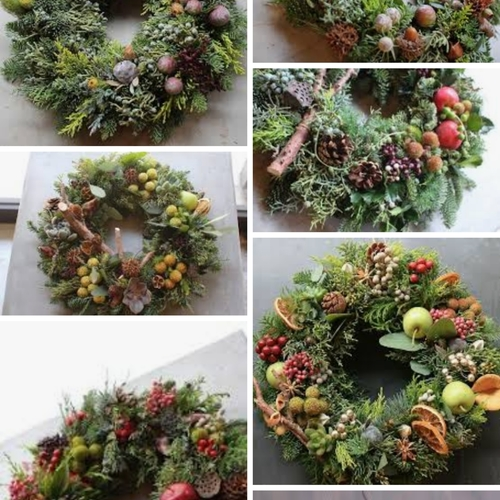 オレゴンモミを使ったクリスマスリースorツリー