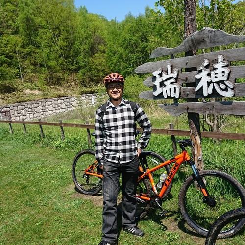 札幌の大自然満喫マウンテンバイク 体験4Hツアー🔰向け 幻のカレーランチ付き