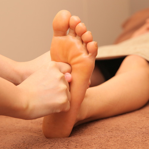 Reflexology & salon salon calf