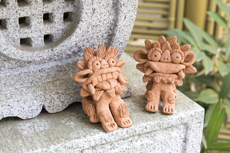【7月】『テラコッタのシーサー』 講師:外山 節子