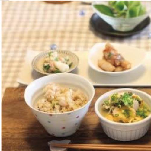 『一汁三菜基本の和食レッスン』in木のキッチン