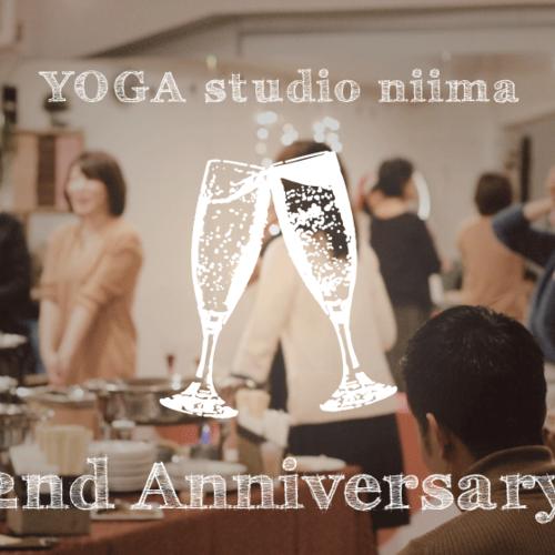 特別イベント【 niima 2周年パーティー!】