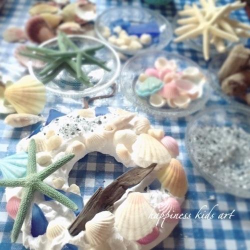 Event 8/6・24 粘土と貝殻のサマーリース