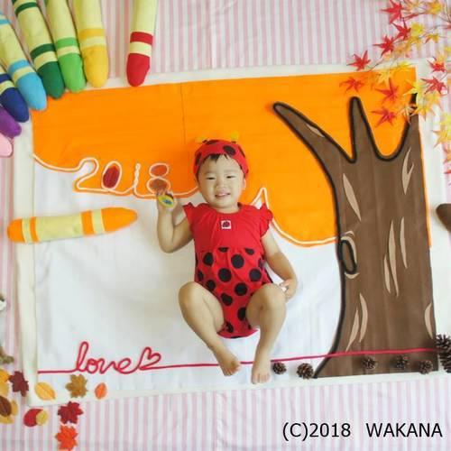 増枠! 10/31(水)<松本> ママはカメラマン☆季節のおひるねアート撮影会