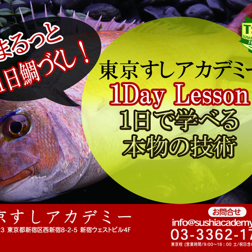 1Day Lesson_鯛
