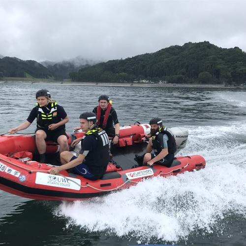 日本初!英国式レスキュボート体験