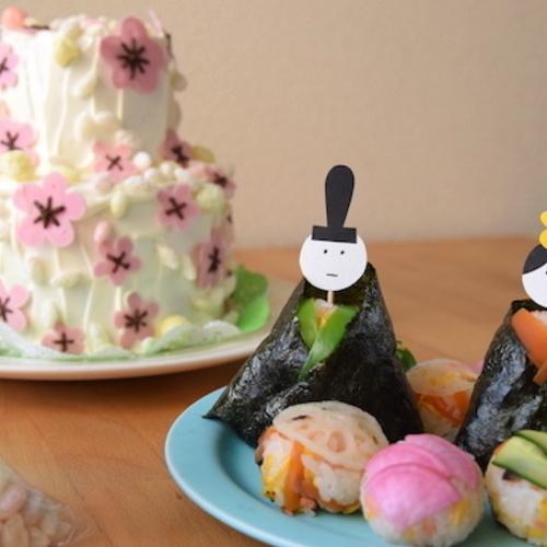 3月2日 3日「3歳からの子ども料理教室」ひなまつりをお祝いしましょう