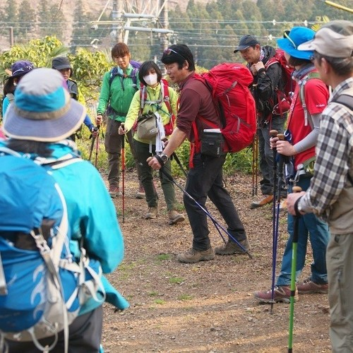 【9/1(土)】安全登山に役立つ正しいトレッキングポールの使い方講習会