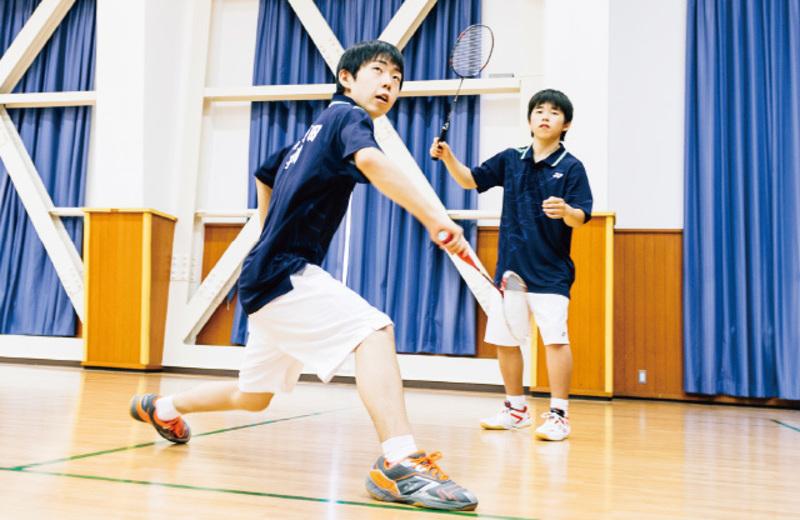 【9月9日(日)部活動体験会】オ)男子バドミントン部